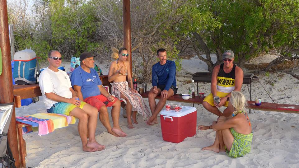 Bonaire-BBQ-Klein-der-harte-Kern