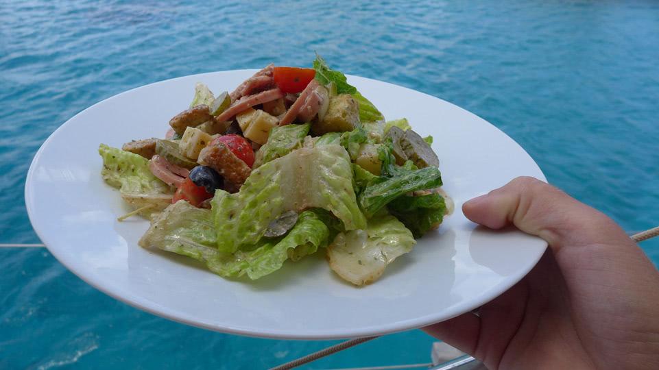 Bonaire-Montag-Wurstsalat