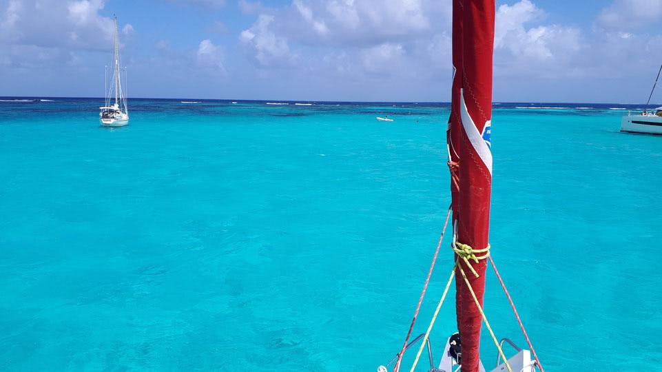 St-Vincent-Tobago-Cays-Ankern