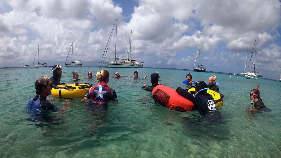 bonaire-freediving-sicherheitseinweisung