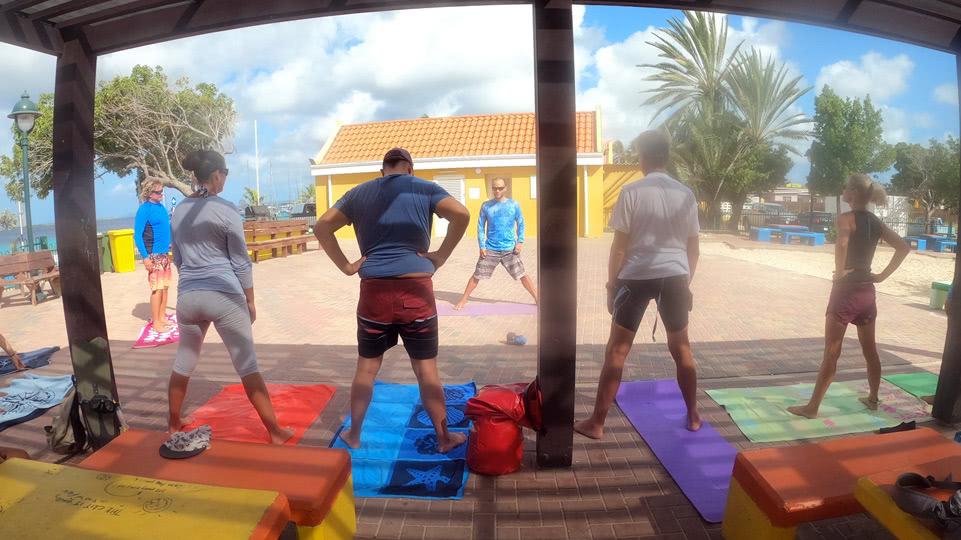 bonaire-freediving-yoga