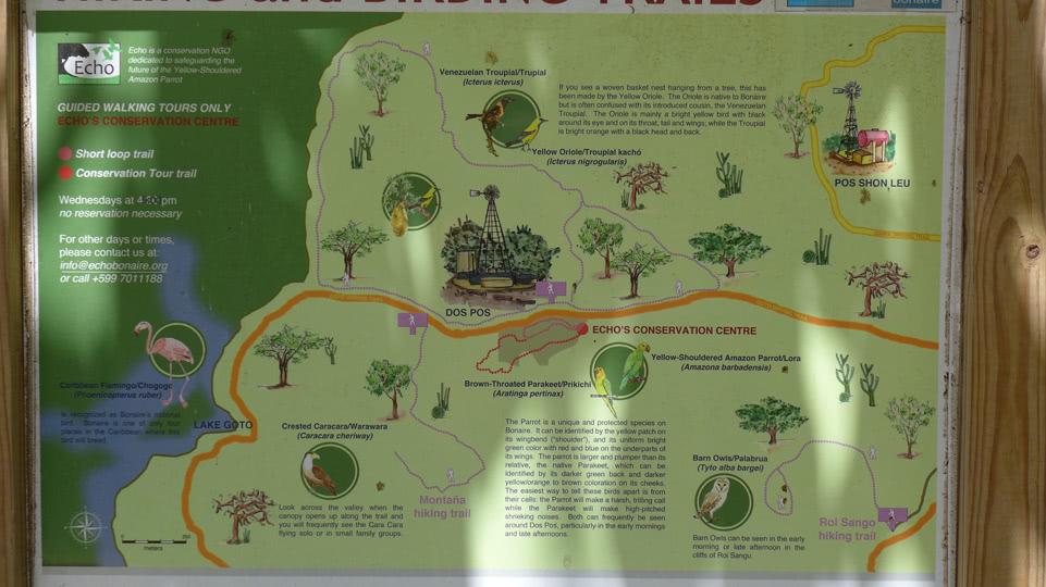 bonaire-hiking-DP-karte