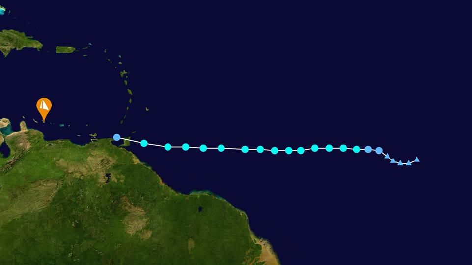 bonaire-hurrikan-saison-gonzalo-2020-track