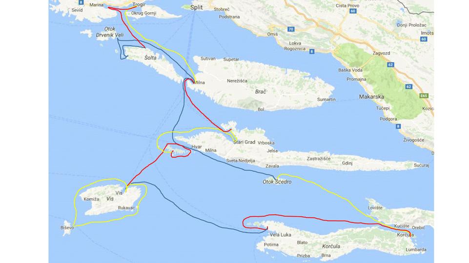 kroatien-route-2016